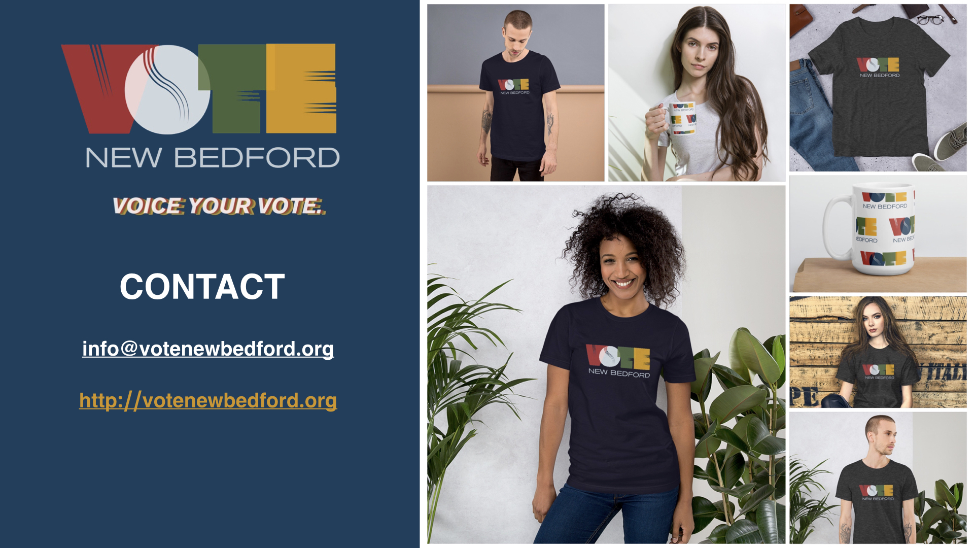 Image of VOTE New Bedford Shirt