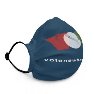Retro VOTE Premium Face Mask