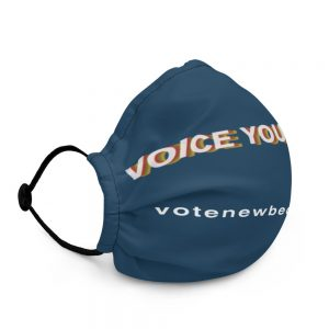 Voice Your Vote. Premium Face Mask