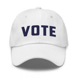 Simply VOTE Dad Hat (Navy)